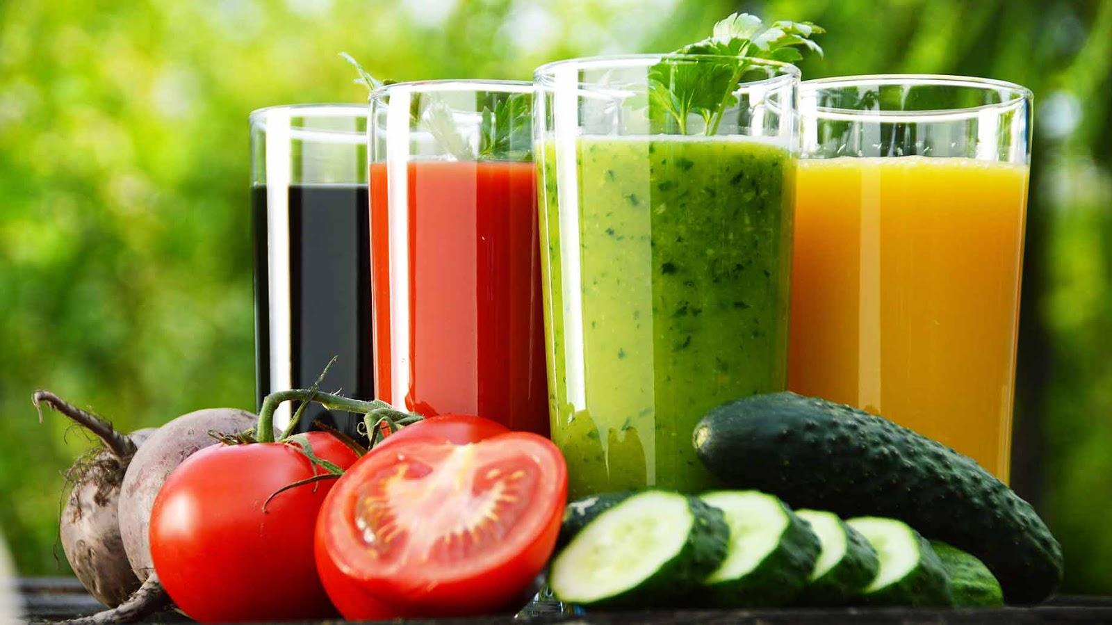 Detoxifierea de vară a organismului cu fructe şi legume