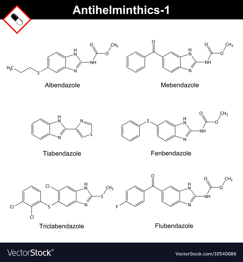anthelmintic drugs chemical cancer renal terapia