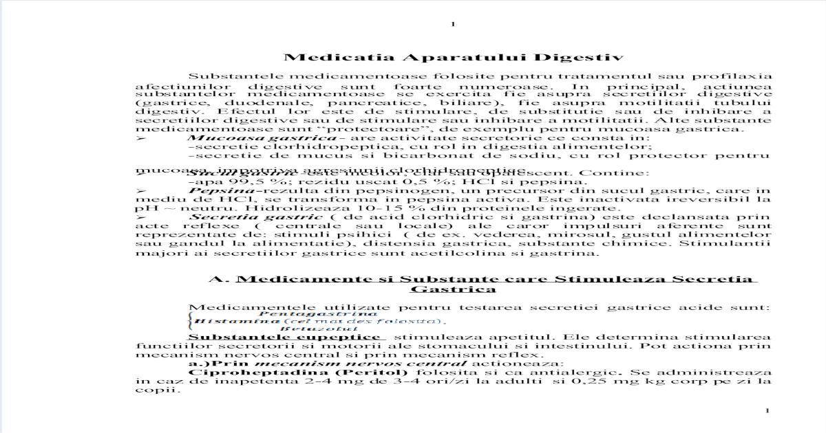 lista medicamente oxiuri