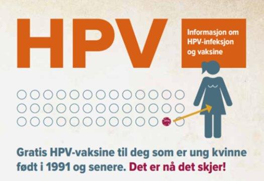 hpv vaksine stavanger