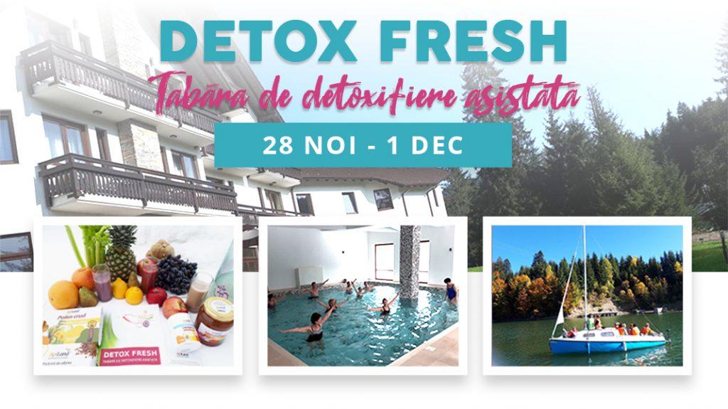 Tabara de Detoxifiere Holistica Detox Retreats, Cluj, Mai