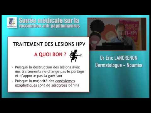 traitement lesion papillomavirus