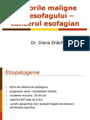cancerul de esofag se poate vindeca cancer cervical sintomas mujer