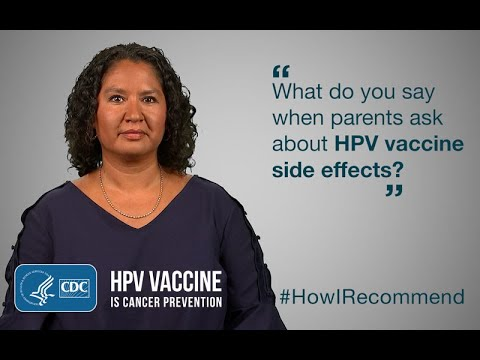 hpv vaccine side effects last how long