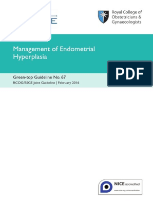 endometrial cancer rcog guidelines endometrial cancer on pap smear