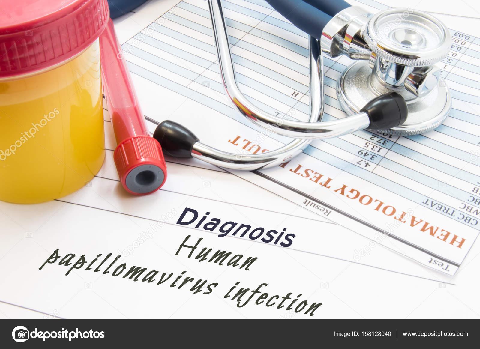 papilloma virus blood test