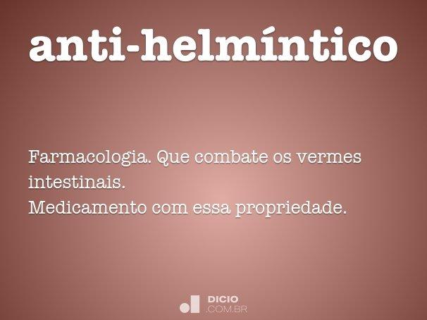 helmintica definicion cancer de faringe pronostico