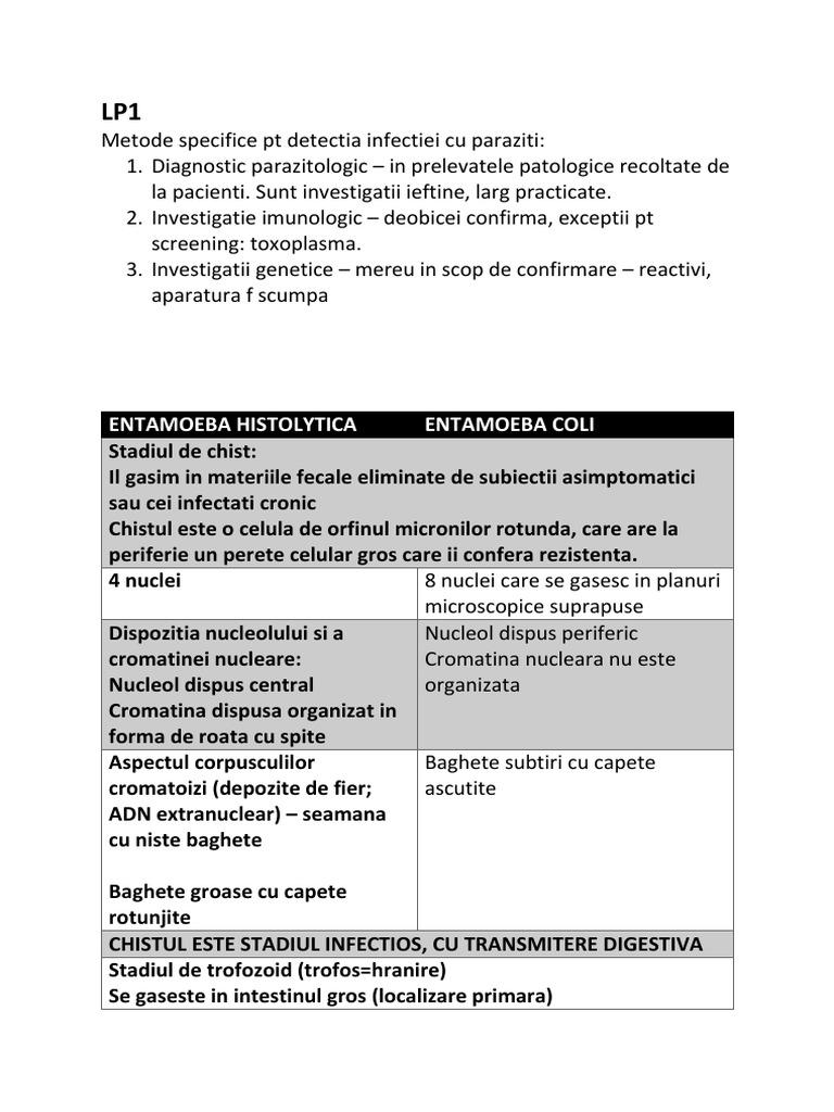 (DOC) PARAZITOLOGIE | Raluca Bodiu - primariabeuca.ro