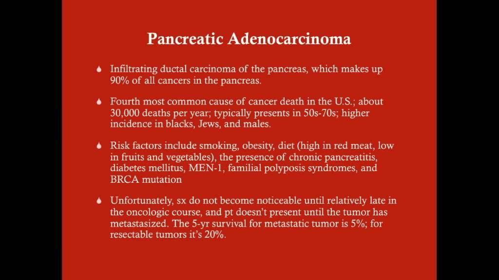 pancreatic cancer usmle papiloma virus humano como se contagia
