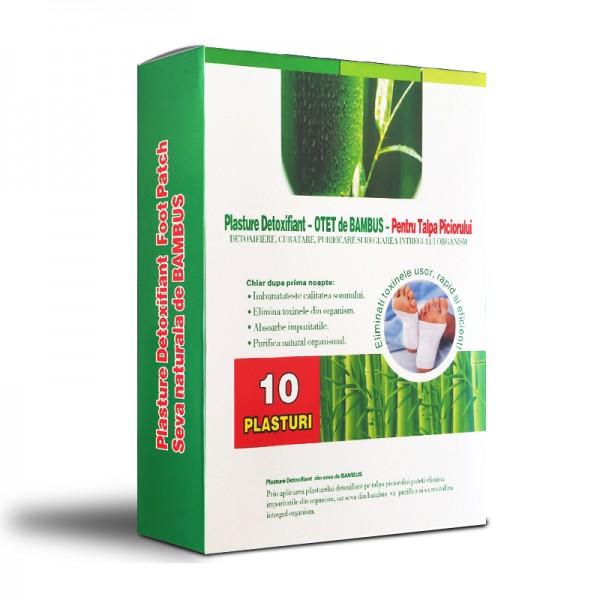 plasture detoxifiant otet de bambus