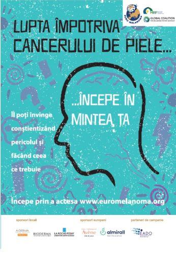 cancer de piele la cap