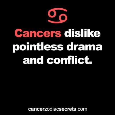 cancer passive aggressive personality