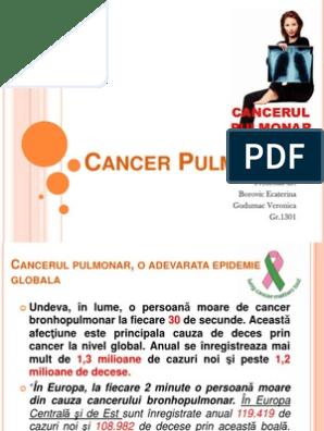 cancerul bronhopulmonar ppt retete detoxifiere cu patrunjel