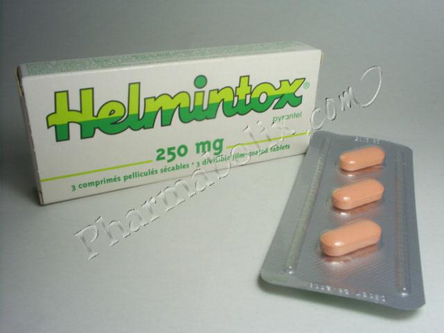 helmintox comprime paraziti u stolici kod odraslih