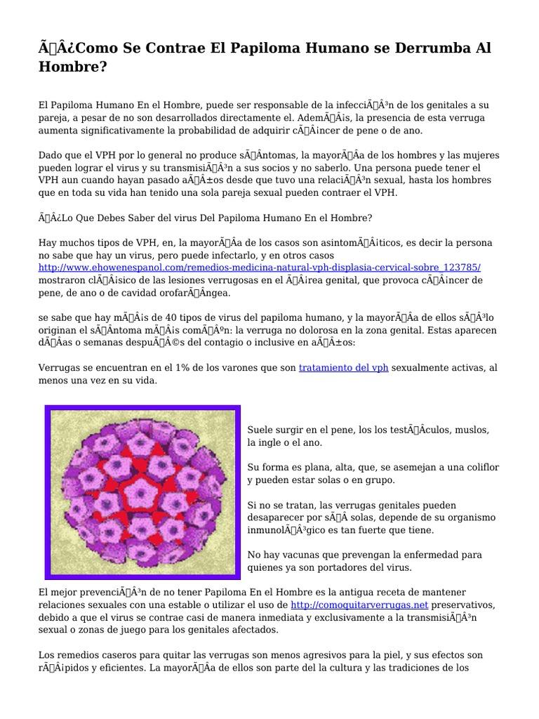 que significa papilomatosa virus papiloma humano reservorio