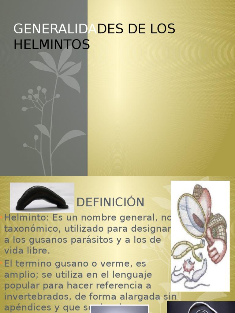 Helminți de vierbă