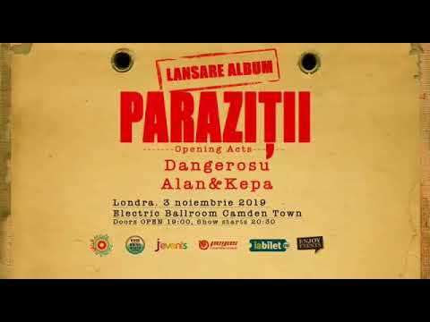Paraziții lansează prima piesă de pe viitorul album   Hoinar Printre Litere