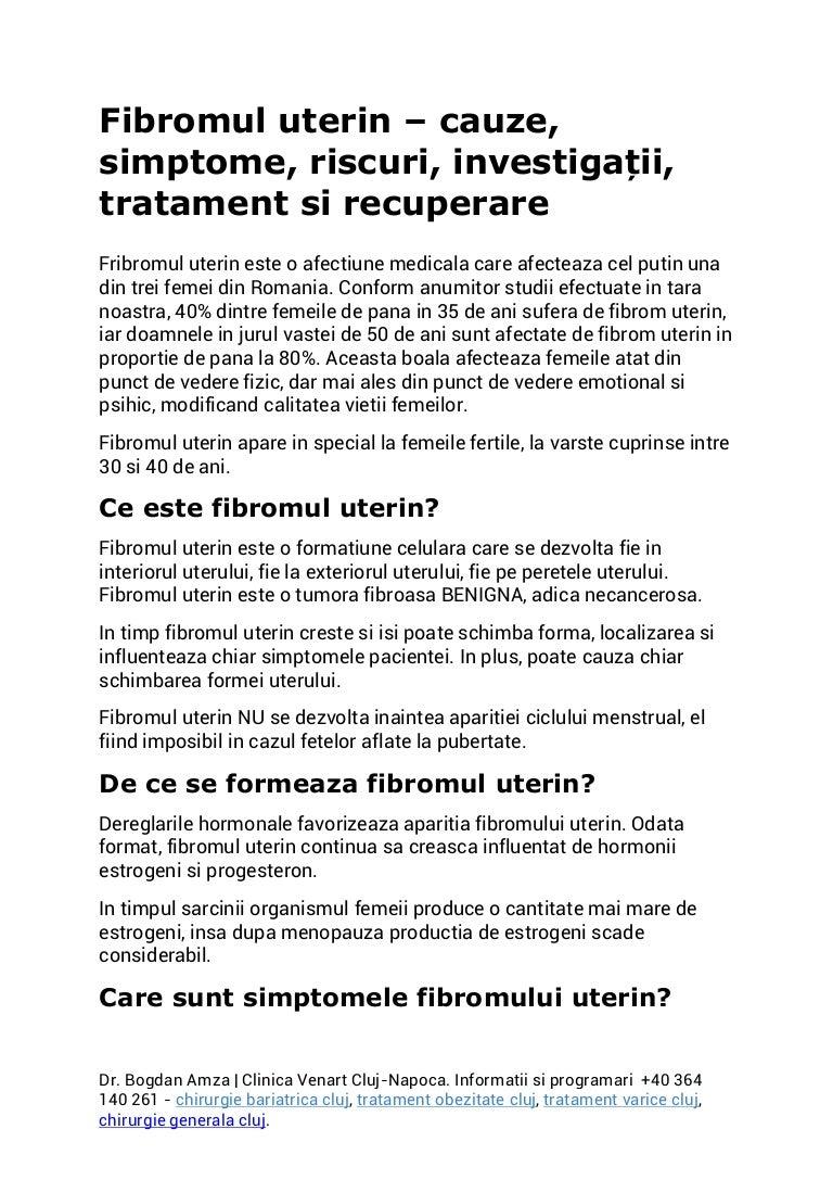 Cancerul Uterin Endometrial   Centru Oncologie Severin