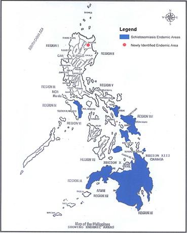 schistosomiasis treatment philippines papiloma nasal fungiforme